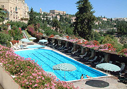 Mount zion hotel jerusalem for Hotels in jerusalem with swimming pool